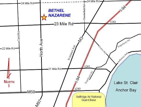 on detroit traffic map